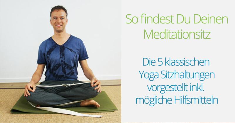 Meditationsitz Yoga