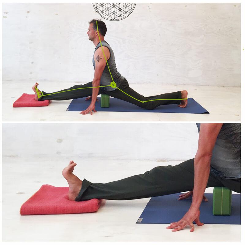 Spagat lernen - 8 Yoga-Übungen für Hanumanasana inkl