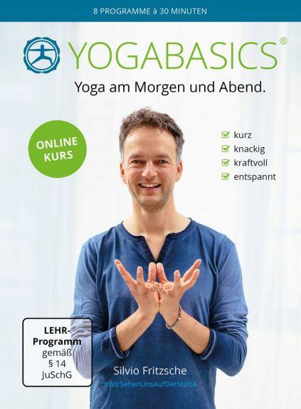 YOGABASICS: 8 Mal 30 Minuten dynamisches Yoga am Morgen und Abend