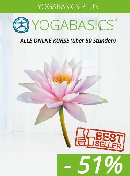 Yogabasics Plus – 10 effektive Online-Kurse zum Vorteilspreis
