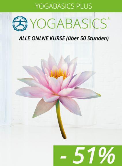 Yogabasics Plus – alle Online Kurse zum Vorteilspreis