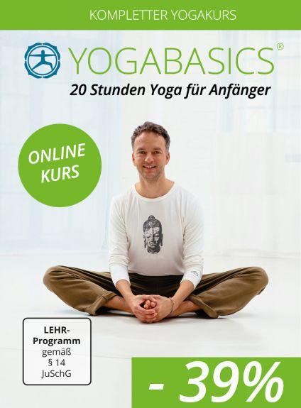 kompletter Yogakurs - 20 Stunden Yoga für Anfänger + BONUS