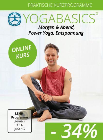 Yoga am Morgen und Abend, Entspannung, Power-Yoga, Chakren Reise