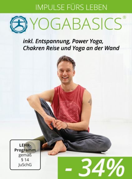 Neue Impulse für dein Leben - Relax-Kurs, Power-Yoga und Yoga an der Wand