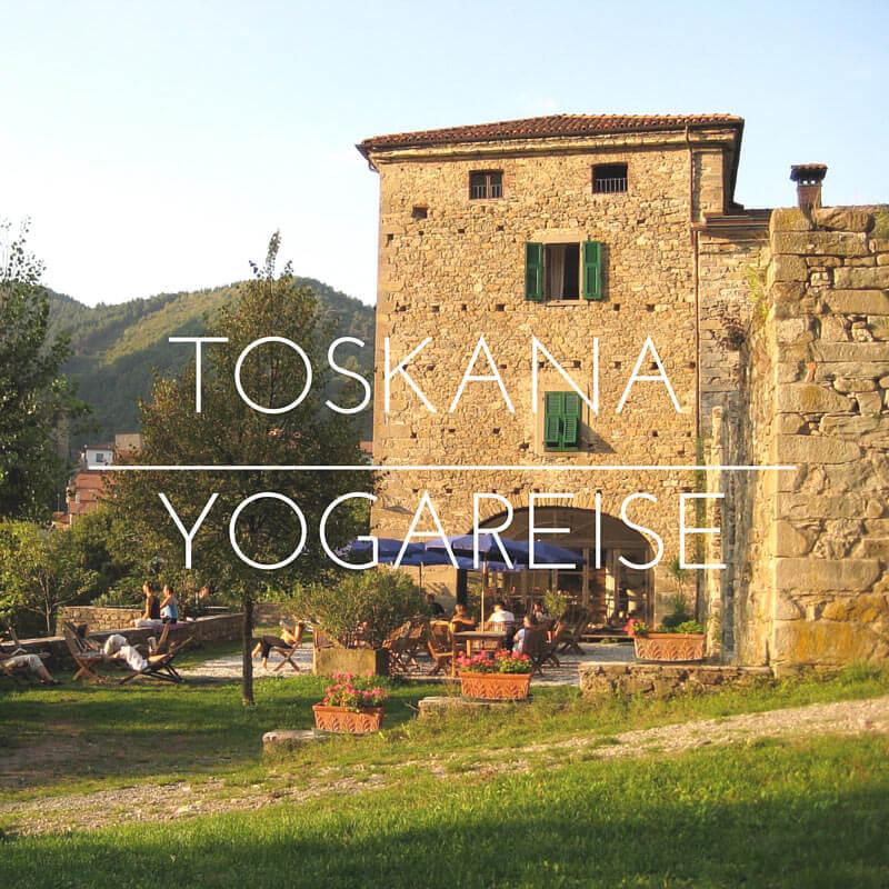 Toskana Yoga Reise