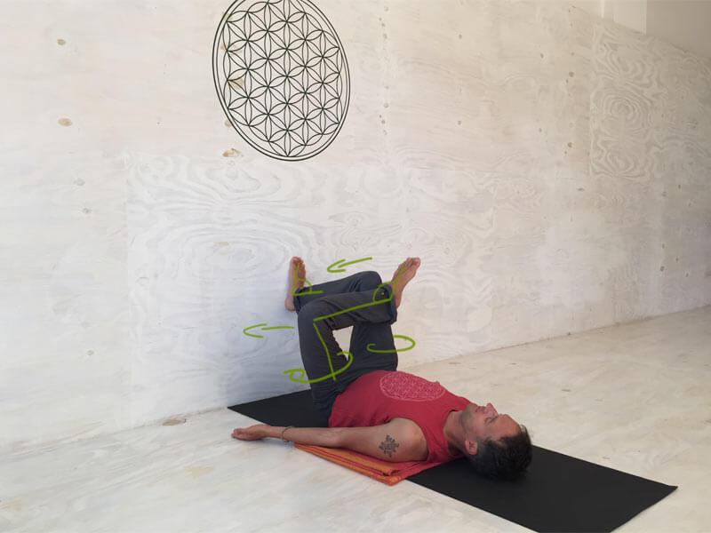 Yoga Hilfsmittel Wand