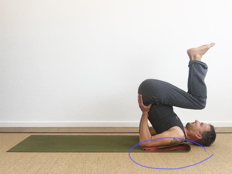 Yoga Hilfsmittel Decke