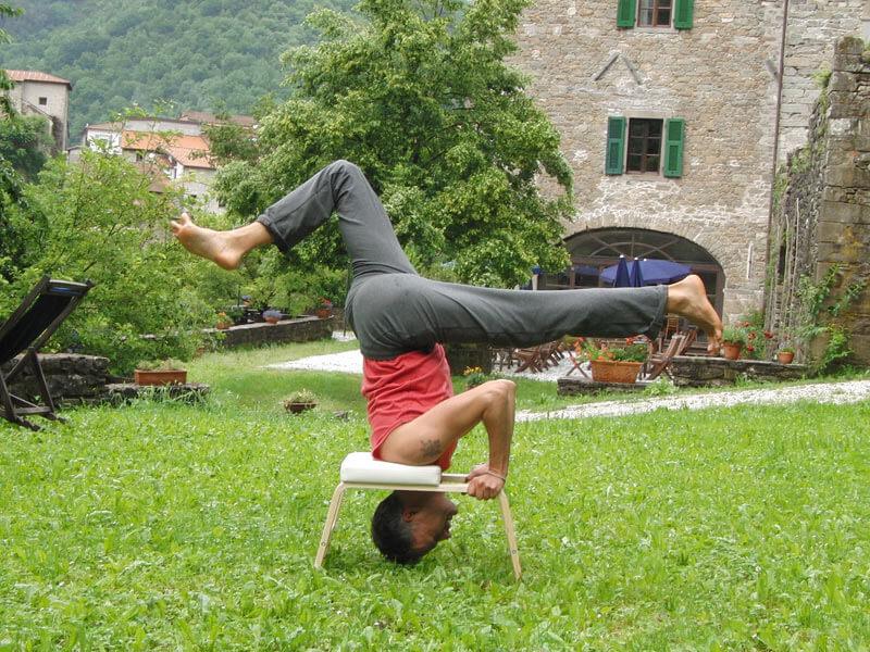Yoga Hilfsmittel Kopfstandhocker