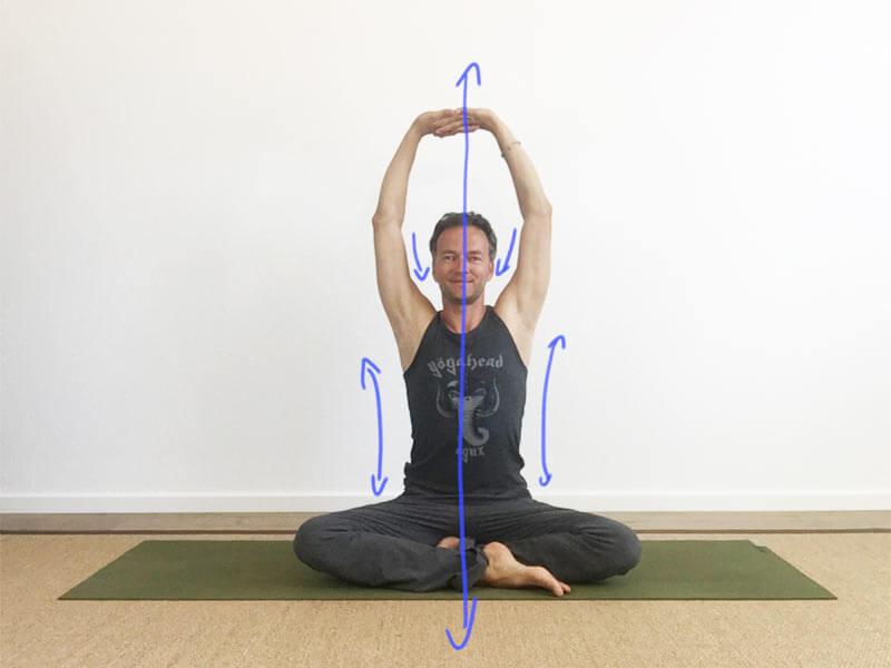 Yoga-Übungen für Schultern: Schultern integrieren – mit/ohne Block