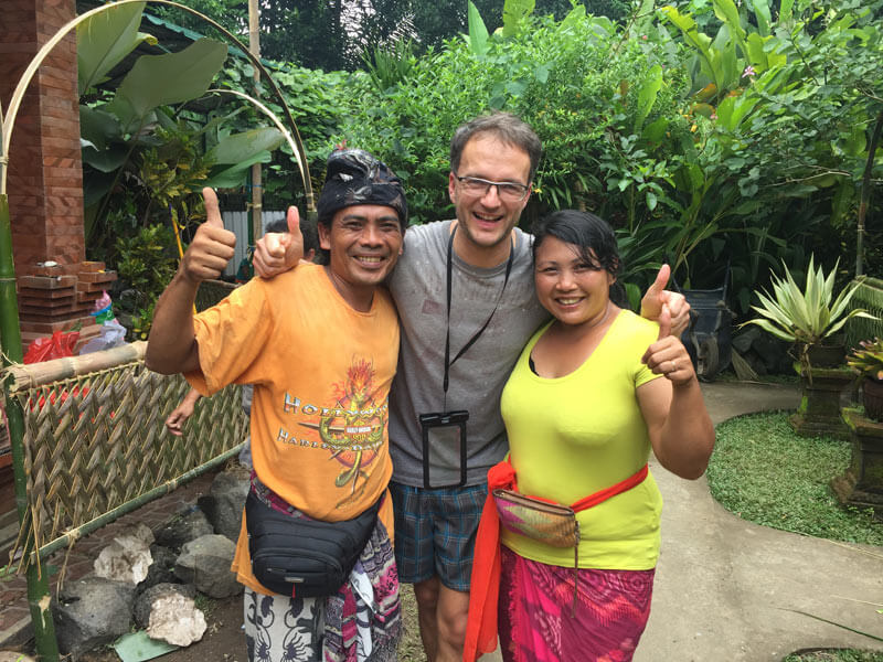 Auszeit Bali meine Gastfamilie bei Ubud