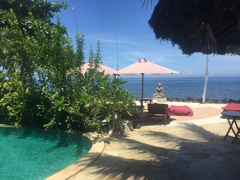 Bali Auszeit - schöne Yogaplätze