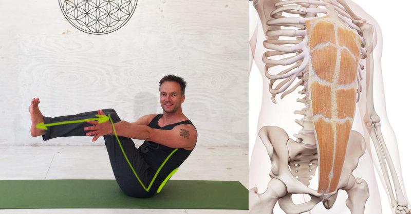 Yoga Übungen Bauchmuskeln - Bauchmuskeltraining für eine starke ...