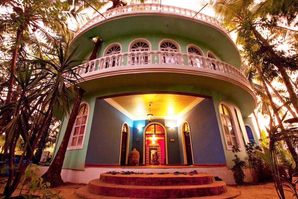 Goa Yoga Reise Unterkunft