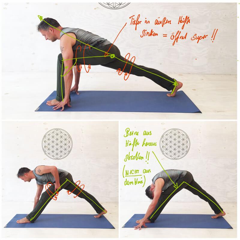 spagat lernen 8 yoga bungen f r hanumanasana inkl trainingsplan. Black Bedroom Furniture Sets. Home Design Ideas