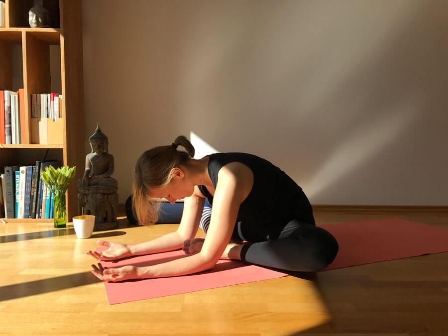 Yin Yoga Übungen