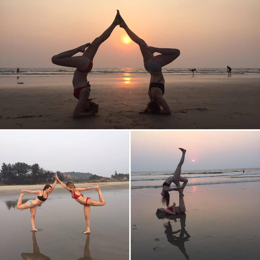 Acro Yoga Goa