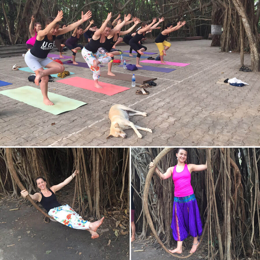 Goa Yoga Reise