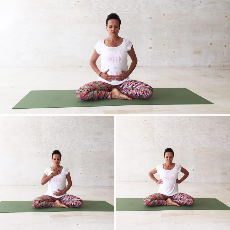 Yoga Übungen in der Schwangerschaft: Atmung