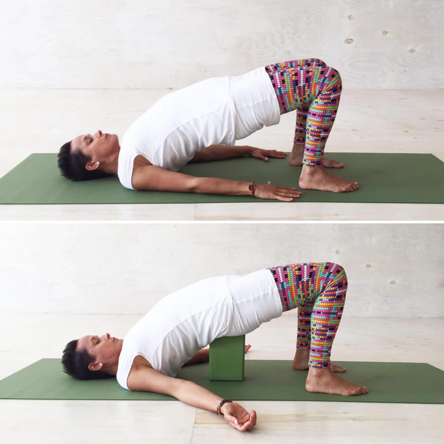 Yoga Übungen in der Schwangerschaft: Schulterbrücke