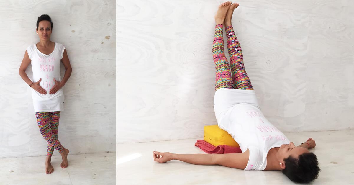 Yoga Übungen in der Schwangerschaft
