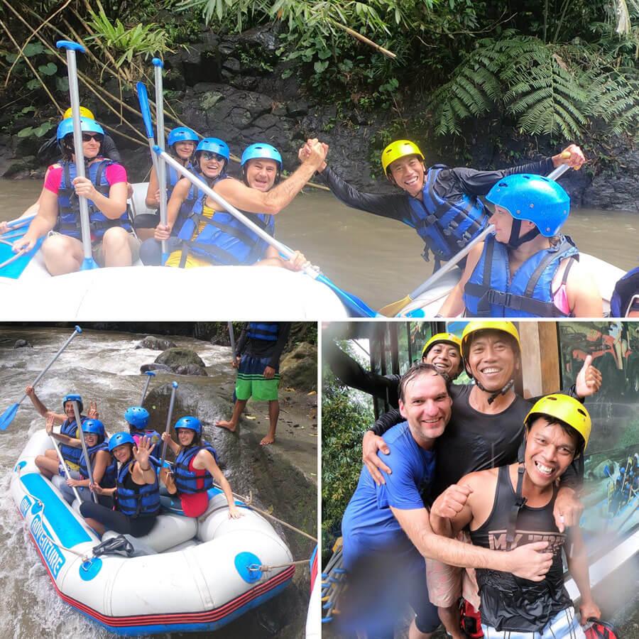 Bali Yogareise - Rafting Tour