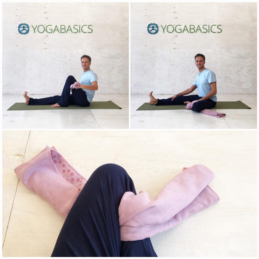 Yoga Knieschmerzen vermeiden