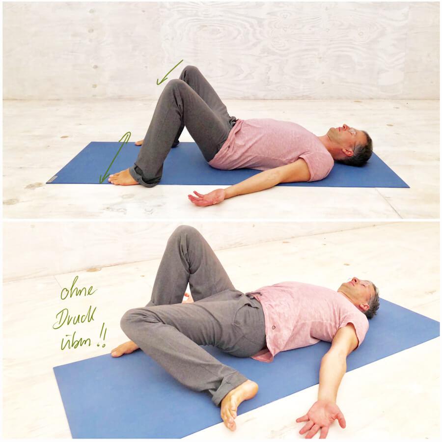 Rückenschmerzen unterer Rücken