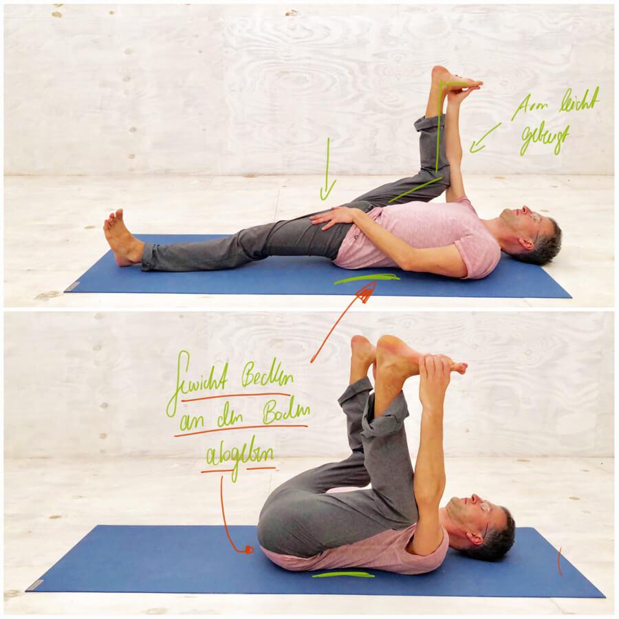 Rückenschmerzen unterer Rücken - Ausgleich