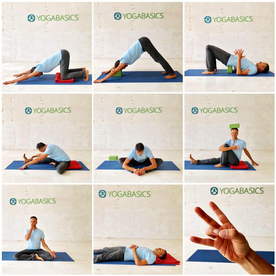 mit yoga stress vermeiden 8 yoga bungen die garantiert helfen. Black Bedroom Furniture Sets. Home Design Ideas
