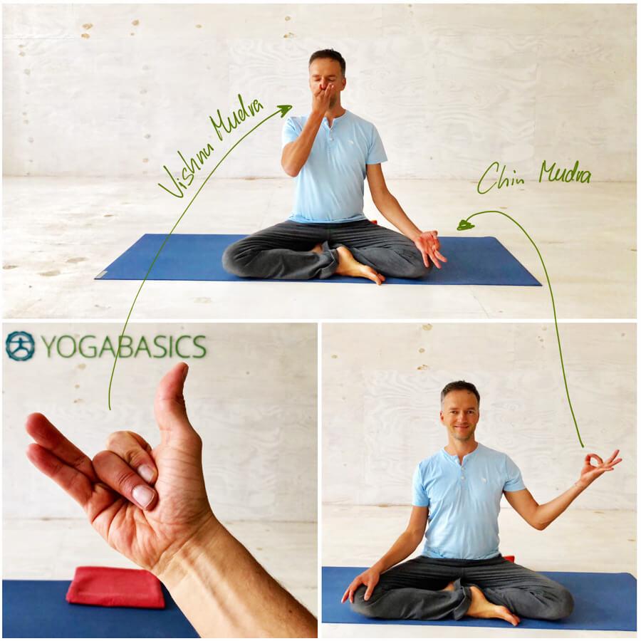 Yoga Stress - Yoga-Übung - Wechselatmung