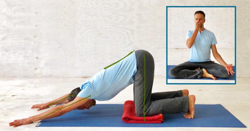 Mit Yoga Stress vermeiden