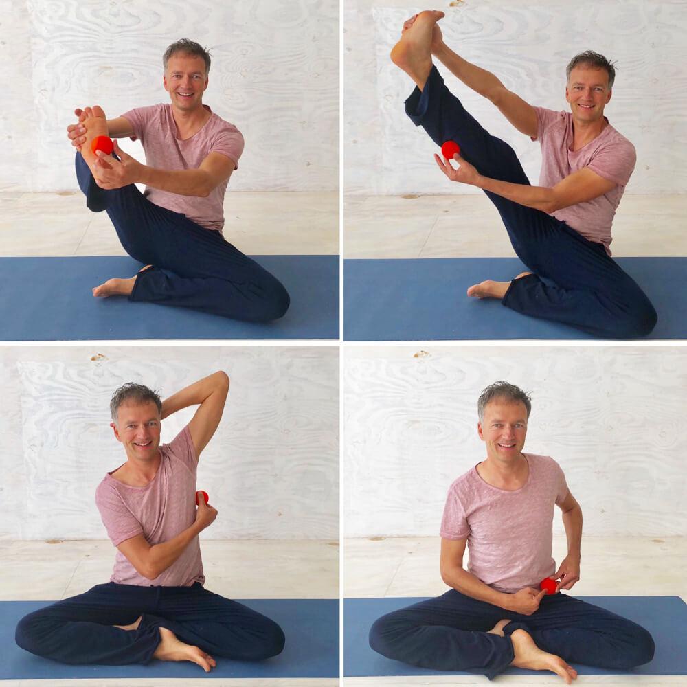 Faszien Yoga ist meistens mit Schmerzen verbunden