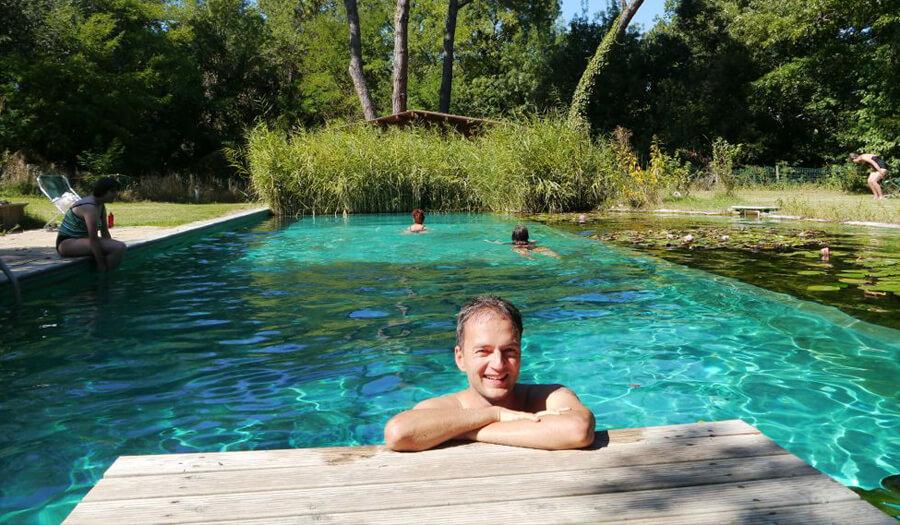 Yoga Urlaub Toskana Süden mit Natur Pool Feeling