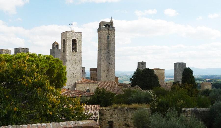 Yoga Urlaub Toskana Süden San Gimignano