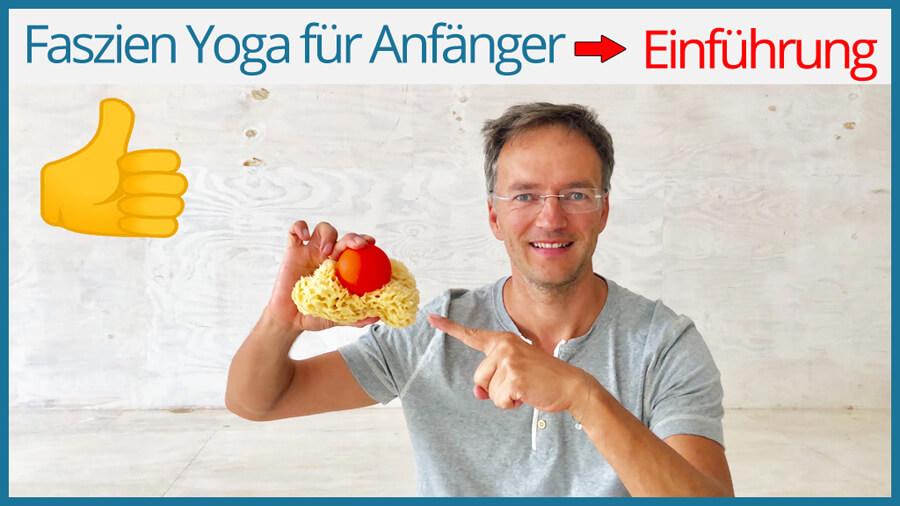 Faszien Yoga Übungen gegen Rückenschmerzen
