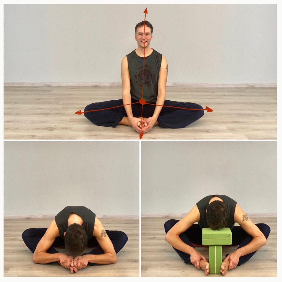 Yoga Übung Hüfte