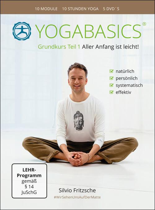 Yoga Anfänger DVD Yogabasics Grundkurs Teil 1