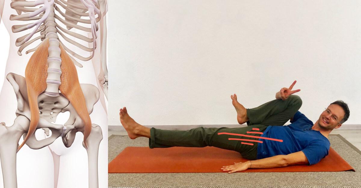 Psoas dehnen yoga