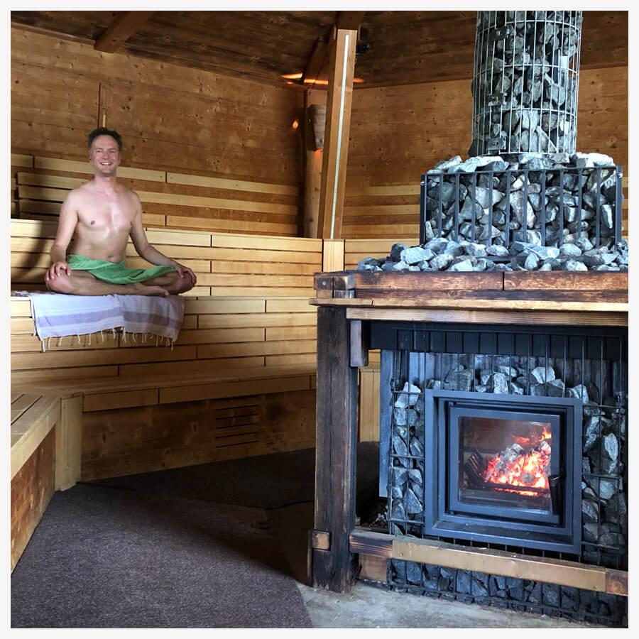 Detox Tipps Alltag Sauna