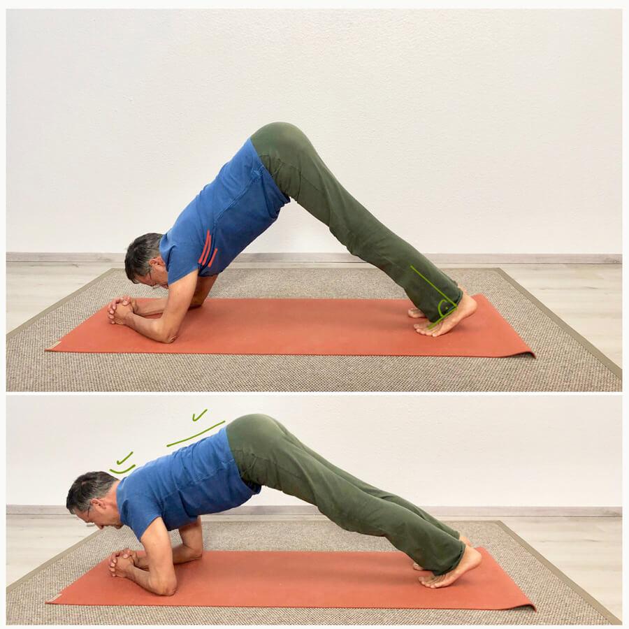 Pectoralis major dehnen - Yoga Übung 3