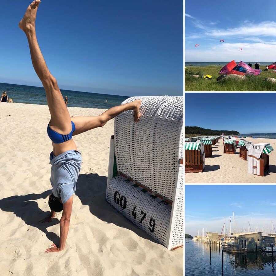 Ostsee Yogareise Strand Binz