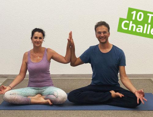 10 Tage Yoga Challenge für Anfänger auf YouTube