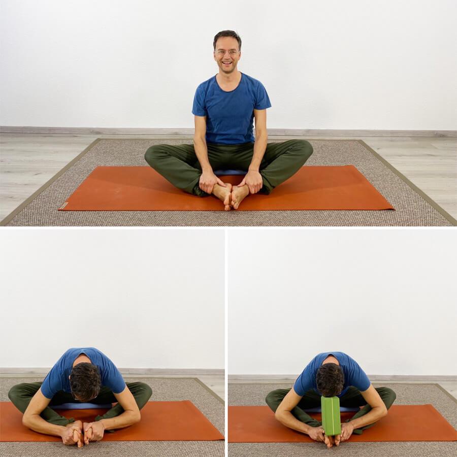 Hohlkreuz wegtrainieren mit Yoga Übungen