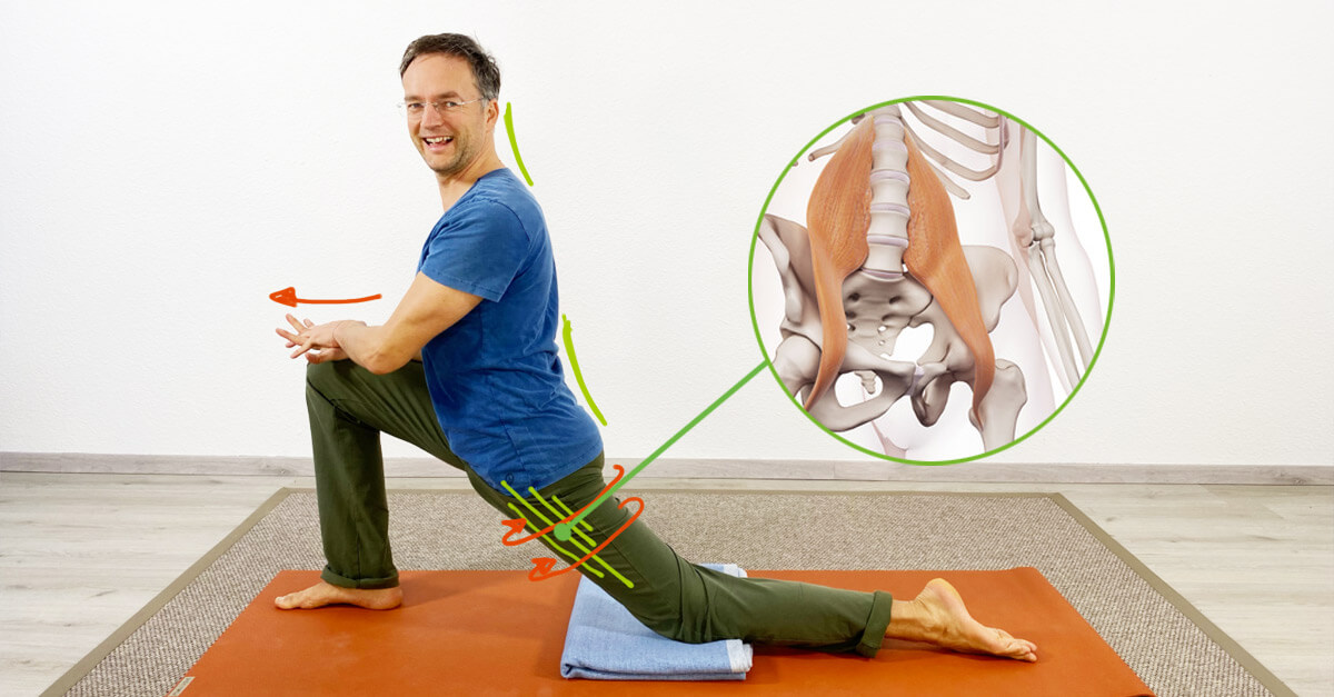 Hohlkreuz wegtrainieren mit Yoga
