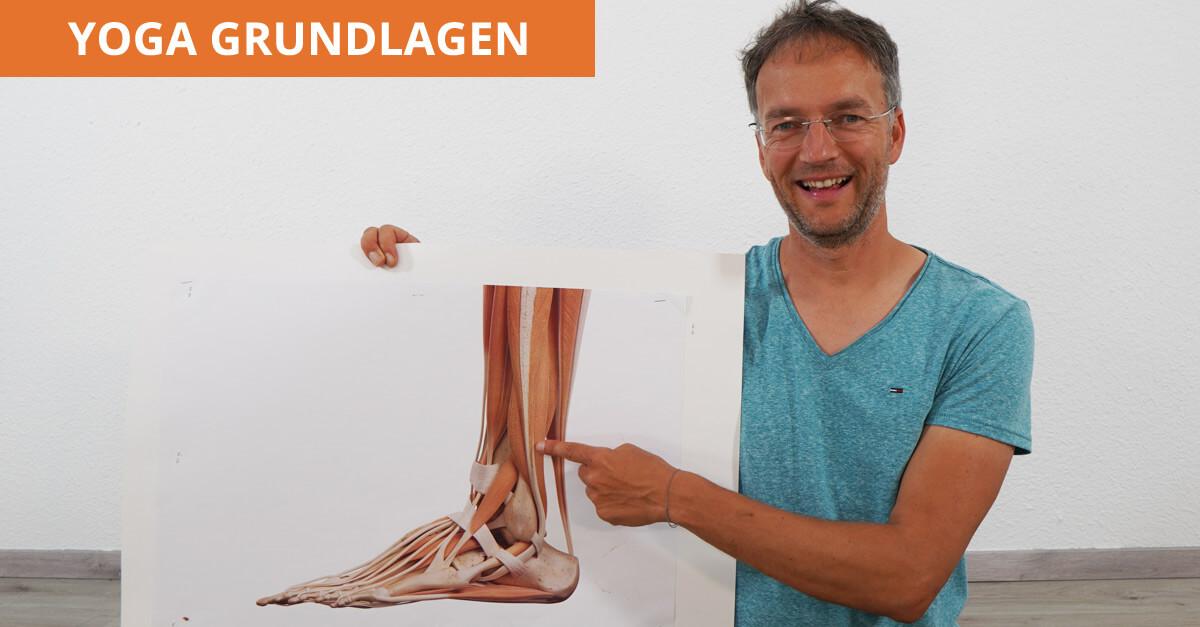Yoga Füße