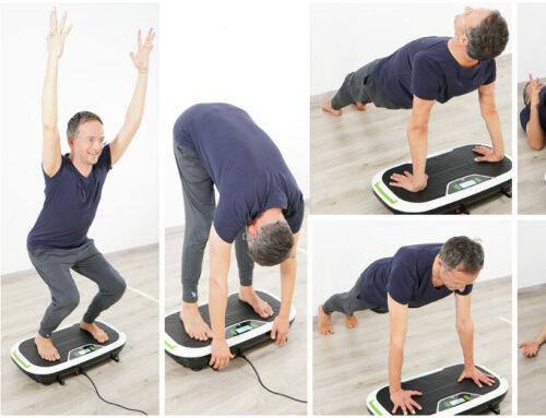 Die 8 BESTEN Vibrationsplatte Übungen für Muskelaufbau und mentales Wohlbefinden