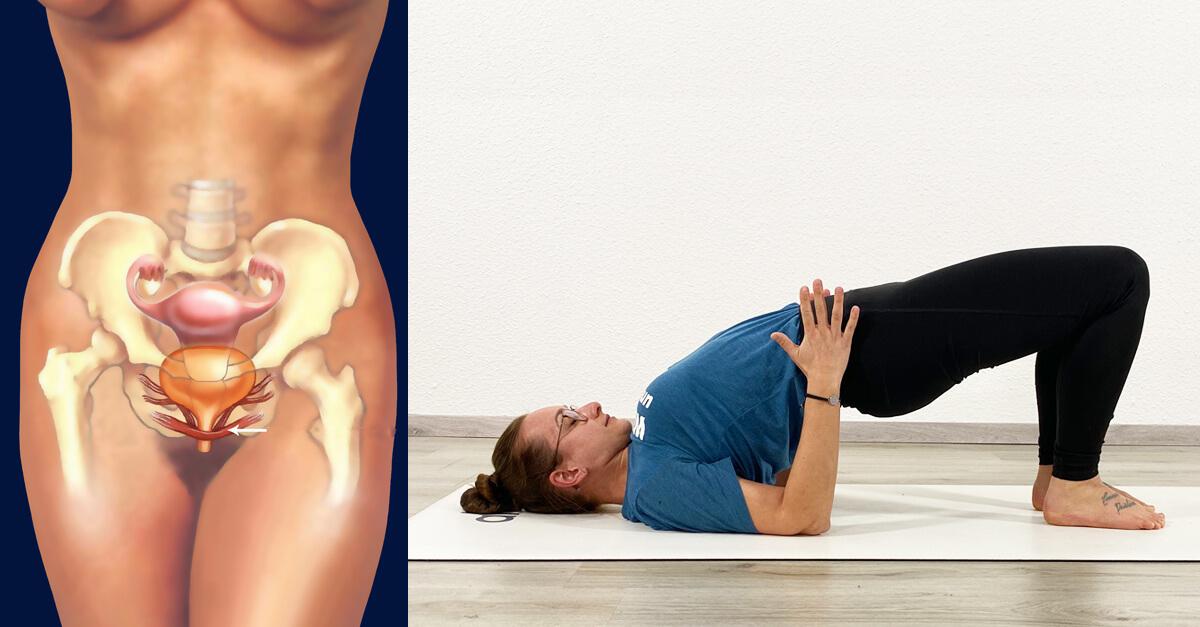 Yoga Beckenboden