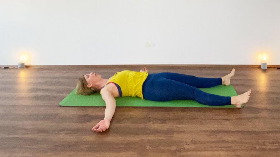 Pitta Yoga End-Entspannung Meditation