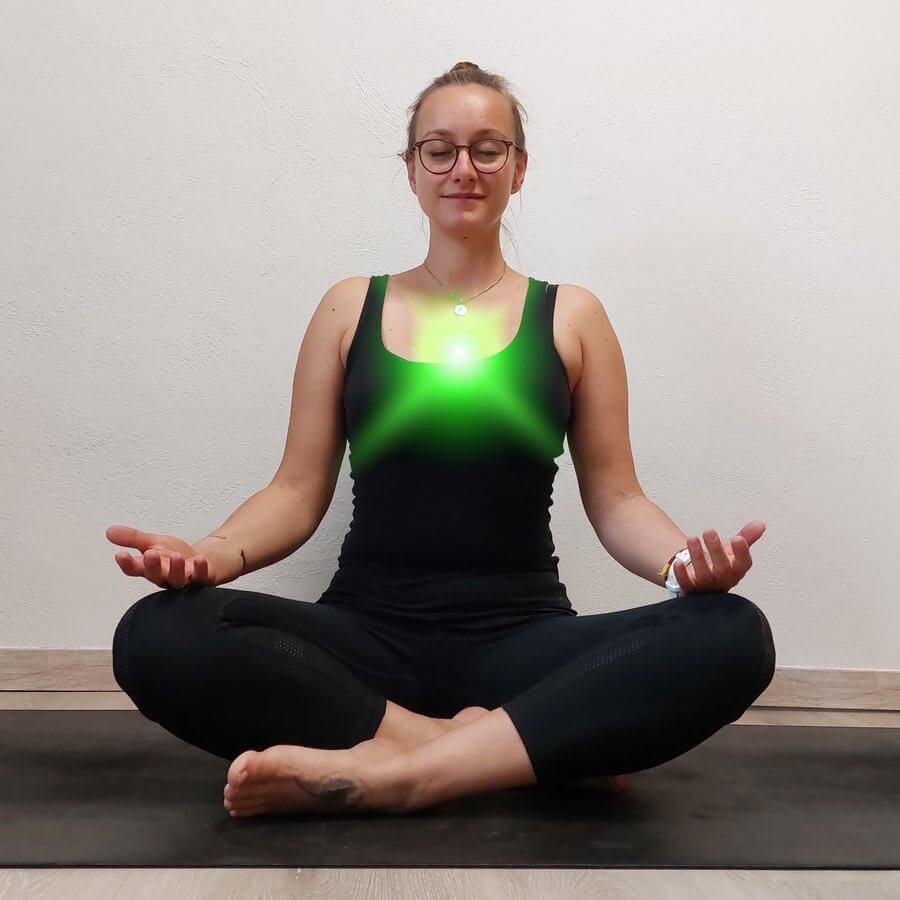 Chakra Yoga Herzchakra
