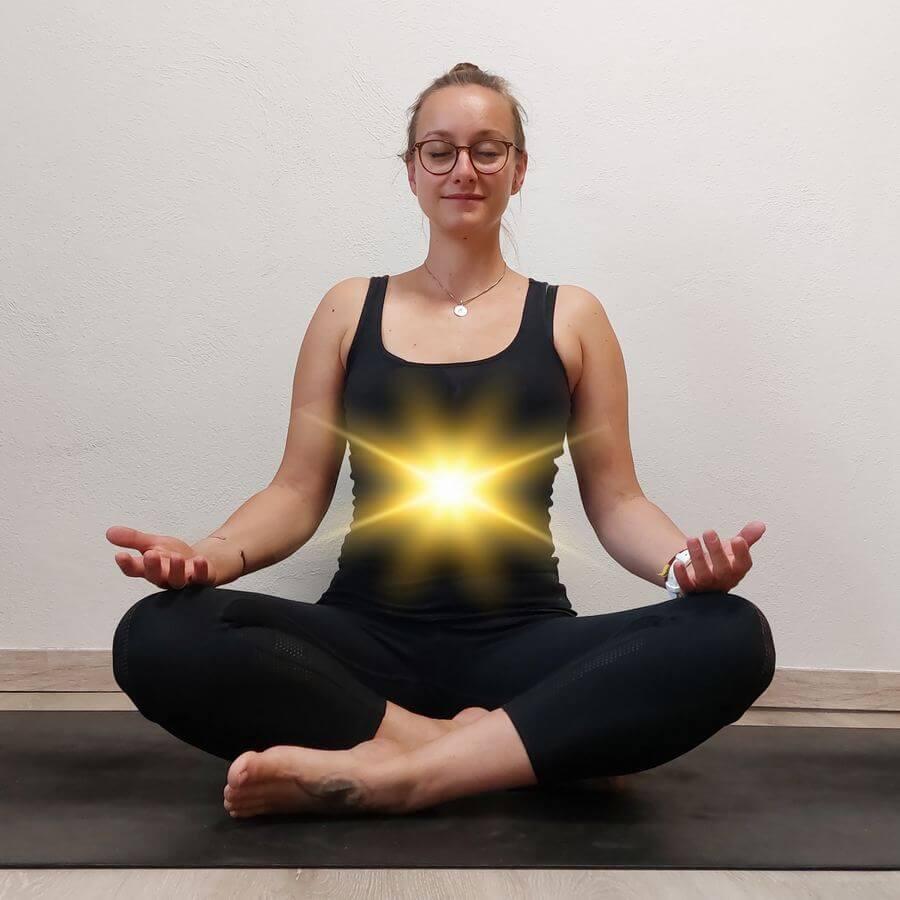 Chakra Yoga Nabelchakra